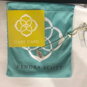 NWT. Kendra Scott Elaina bracelet. February stone.